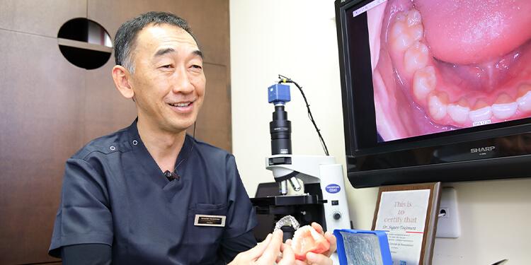 臨床経験が豊富な院長によるマウスピース型矯正装置(インビザライン)による矯正治療