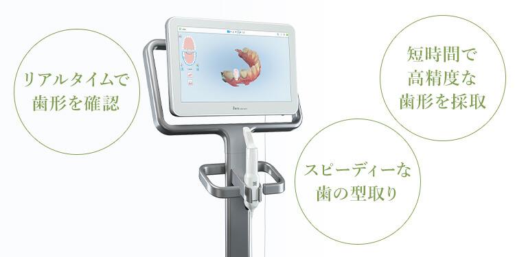 口腔内3Dスキャナー「iTero element」完備