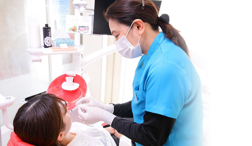 精密な口腔内検査・リスク把握